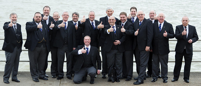 Freemasons gather for their annual meeting at the seaside