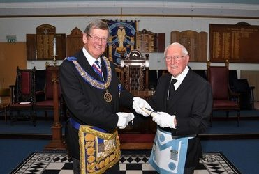Herbert Hacker Celebrates Seventy Years in Freemasonry