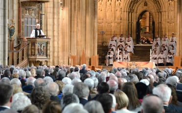 Special Thanksgiving Service at Canterbury Cathedral