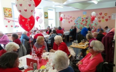 Valentines Celebration for Senior Citizens