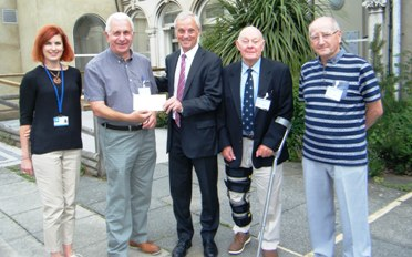 £1,000 Donation to the Strode Park Foundation