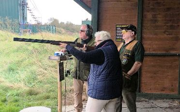 They Came and They Tried Clay Shooting